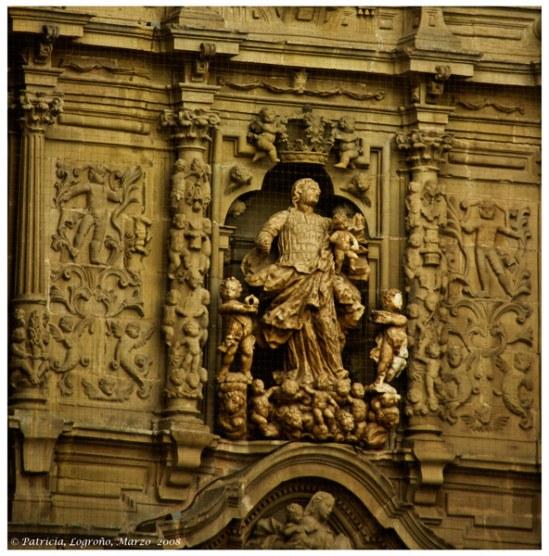 Logroño fachada religiosa